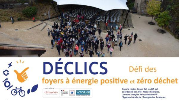 Retour sur l'évènement final du Défi DECLICS des familles à énergie positive 2019